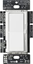 Lutron Diva LED+ Dimmer for Dimmable LED, Halogen and Incandescent Bulbs | Single-Pole or 3-Way | DVCL-153P-WH | White (Renewed)
