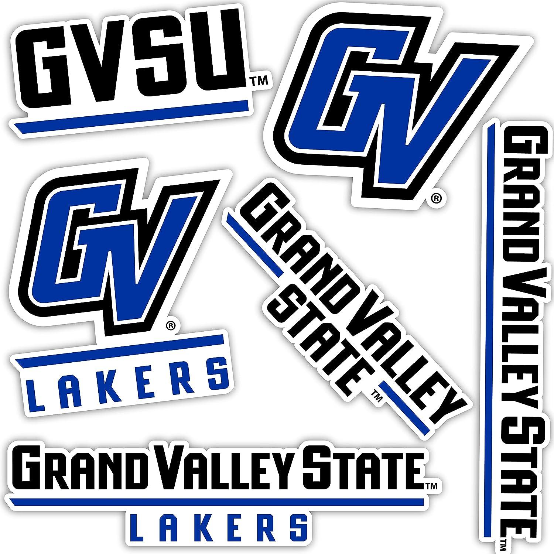 Grand Valley State University GVSU Lakers Sticker Vinyl Decal Laptop Water Bottle Car Scrapbook (Type 2 Sheet)