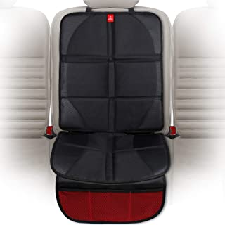 ROYAL RASCALS Car Seat Protector for Child Seats - Protects Upholstery from Stains & Damage with Padded Cover - Organiser ...