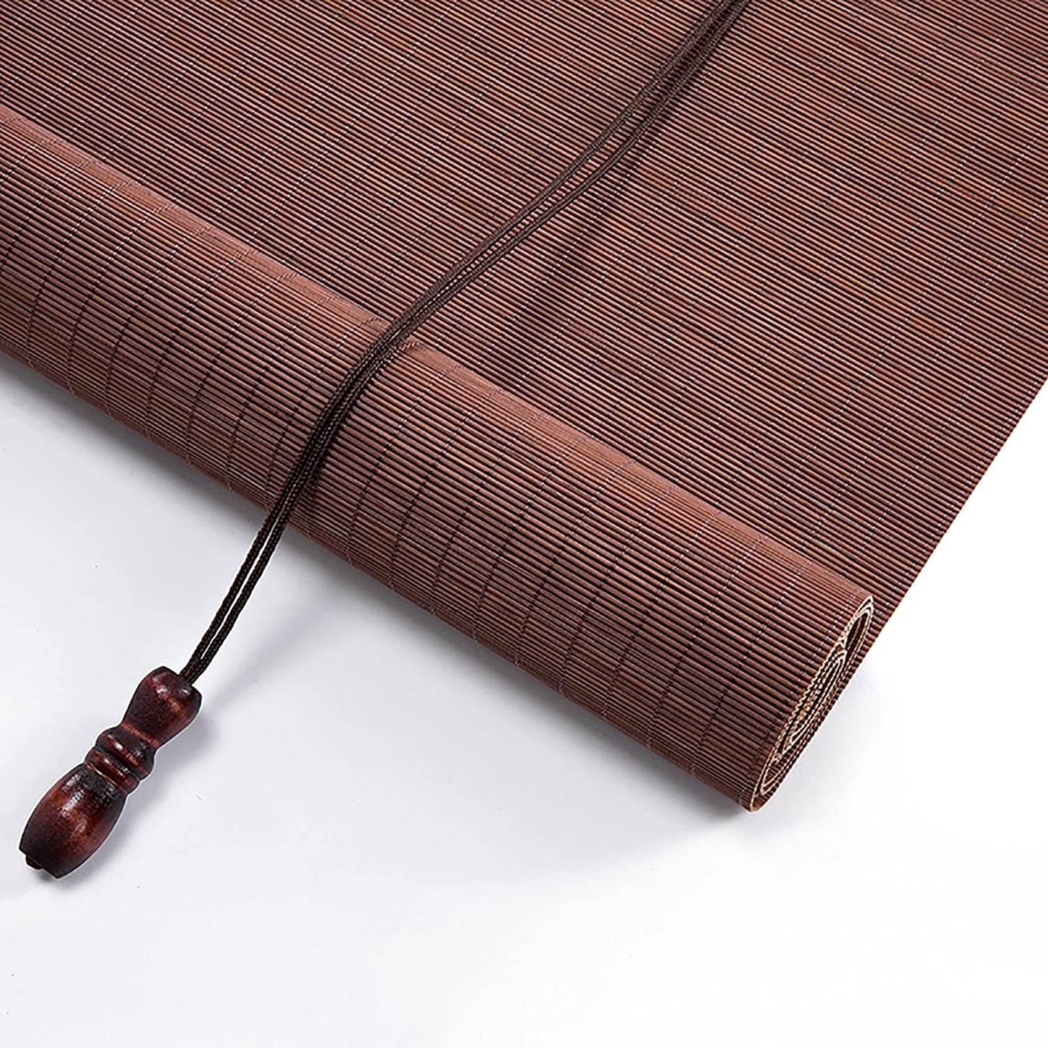 FMNV Bamboo New arrival Curtain Wooden Roller Retro Blinds B Blind Ranking TOP20