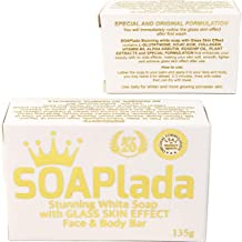 SOAPLADA STUNNING WHITE SOAP With Glass Skin Effect