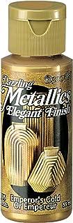 DecoArt Americana Acrylic Metallic Paint, Emperor's Gold