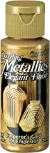 DecoArt Dazzling Metallics 2-Ounce Emperor's Gold Acrylic Paint