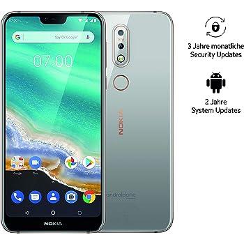 Nokia 7.1 Dual SIM Smartphone (5,84 Pulgadas Full HD Display, 32 ...