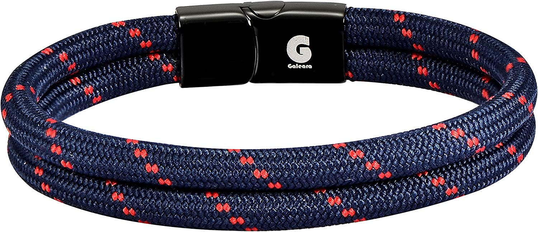 Rope Bracelets Cuff Surfer Men Bracelet Cord Women Galeara NOA Unisex White Black Blue Orange Red Green