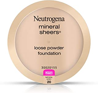 Neutrogena Mineral Sheers Loose Powder Foundation 20, Natural Ivory 20.19 Oz.