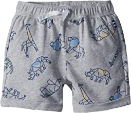 Splendid Littles - Origami AOP Baby French Terry Shorts (Infant)