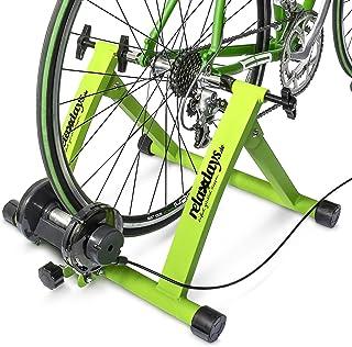 comprar comparacion Relaxdays, Convierte Bicicleta común a estática, Mide: 54 x 46 x 20 cm, Azul, Unisex Adulto