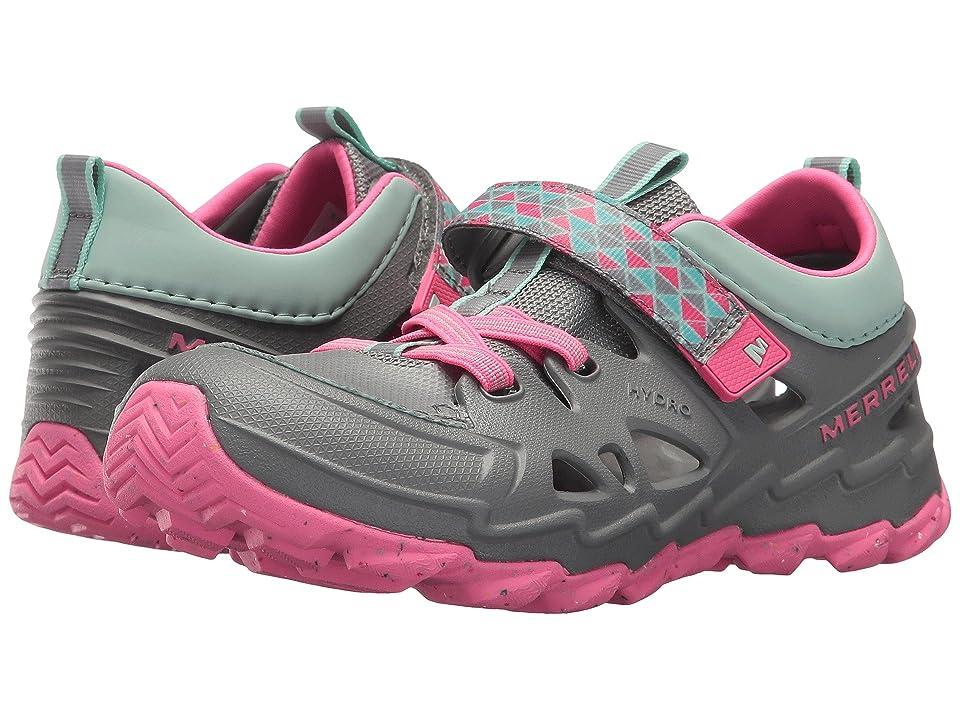 Merrell Kids Hydro 2.0 (Toddler/Little Kid) (Grey/Pink) Girls Shoes