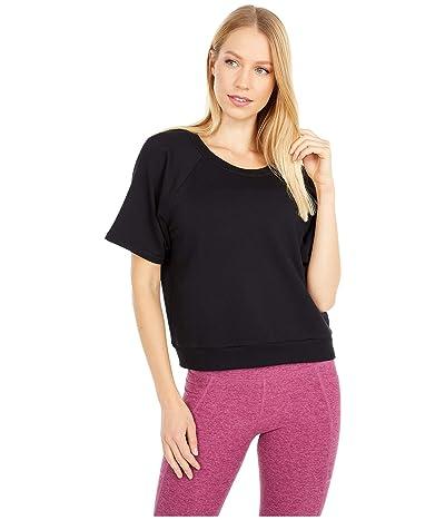 Beyond Yoga Solid Choice Short Sleeve Pullover (Black) Women