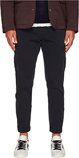 Slim Fit Stretch Cotton Cargo Pants