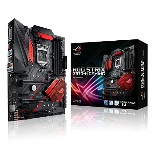 Asus ROG STRIX Z370-H GAMING Carte Mère Intel Socket 1151