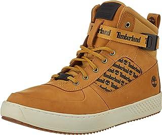 8959491b Timberland Men's CityRoam Cupsole F/L Chk Wheat Nubuck Leather  Sneakers-10.5 UK/