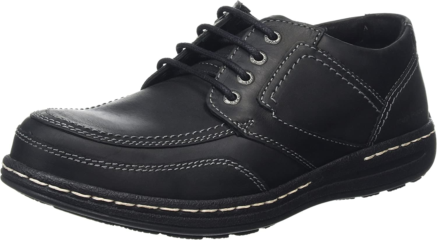 Hush Puppies Mens Volley Victory Lace Up shoes Black Size UK 7 EU 41