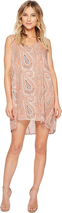 Stella Sleeveless Paisley Print Dress