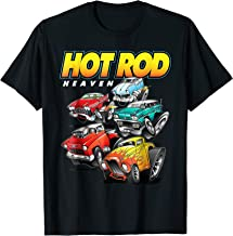 Hot Rod Heaven Classic and Antique Cars and Trucks T-Shirt