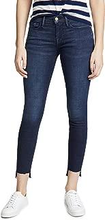 Women's Le Skinny de Jeanne Stagger Hem Jeans