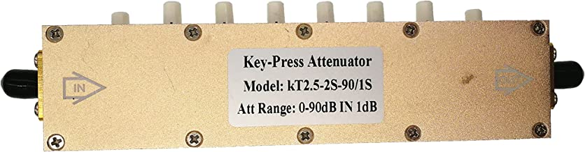 Adjustable Key-Press Attenuator Step-Adjustable RF Attenuator (5W SMA 0-90dB)