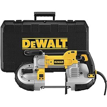 DEWALT Portable Band Saw, Deep Cut, 10 Amp, 5-Inch (DWM120K),Yellow,Large
