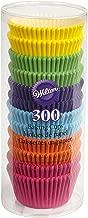 Wilton 415-2179 300 Count Rainbow Bright Standard Baking Cups