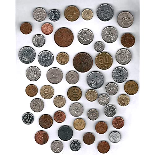 Old WorldWide/'s Coins Free Air Registered Shipping Lot Of 50 Different !!