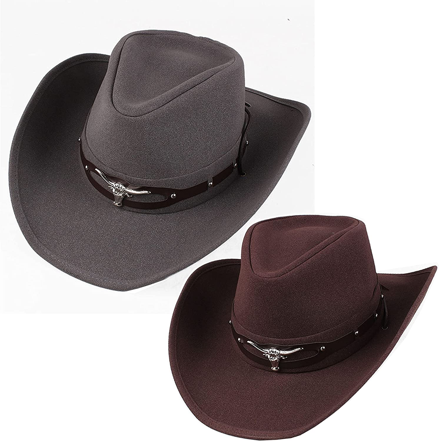 Cheap LXFMZ Cowboy Hat Western Outback Style Men's Women's Clearance SALE Limited time