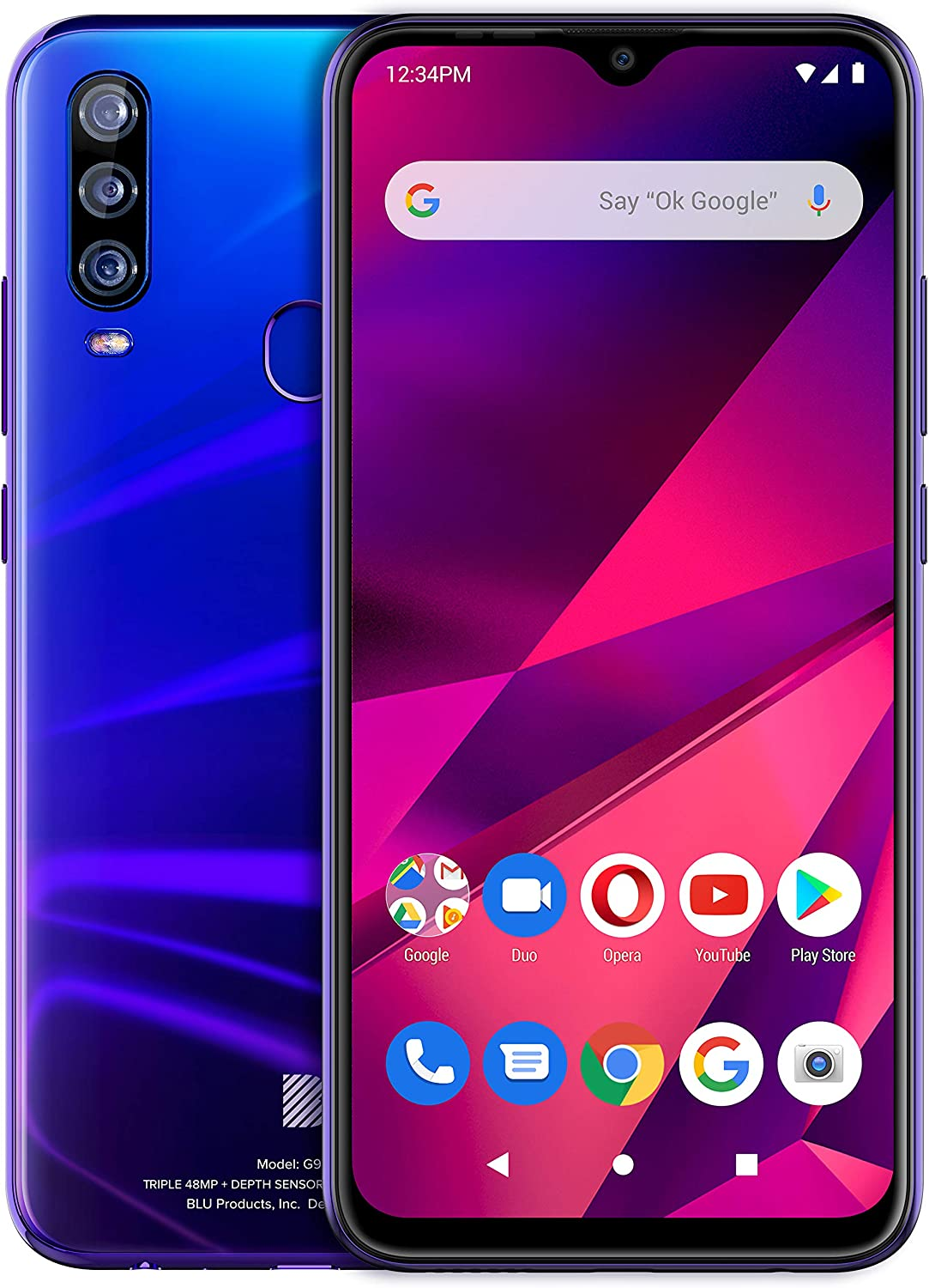Sale price BLU G9 PRO 2020 All Day W Version US Unlocked Cheap mail order sales Battery