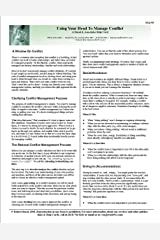 Using Your Head To Manage Conflict Helpcard Kindle Edition