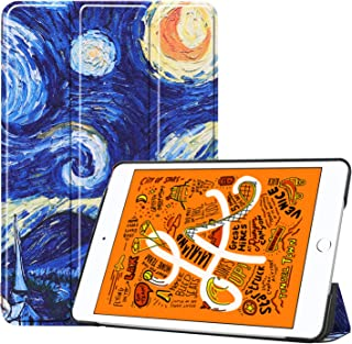 iPad Mini 5 2019 Case 5th Generation iPad Mini, Slim Lightweight Stand Protective Case Translucent Frosted Shell Smart Cover for 2019 Apple iPad Mini 5-7.9 Inch, (Starry Night)