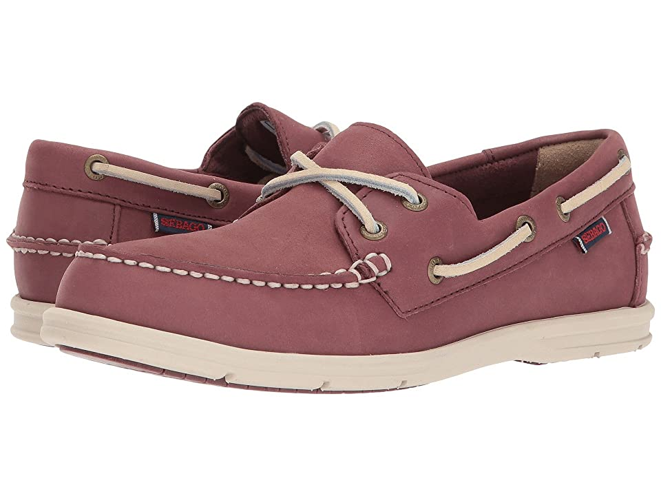 Sebago Litesides Two Eye (Mauve Leather) Women