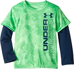 UA Stacked Slider (Little Kids/Big Kids)