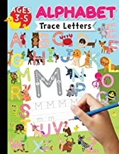 Alphabet Trace Letters Ages 3-5: Tracing Practicing with Kids - Trace Letters of The Alphabet - (Large Print Trace Letters Book Size 8.5x11 inches)