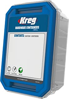 Kreg Tool Company KSS-S Hardware Container, Small