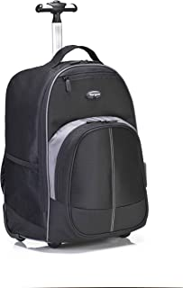 Targus Compact Rolling Business and Travel Commuter Backpack for 16-Inch Laptop, Black (TSB750US)