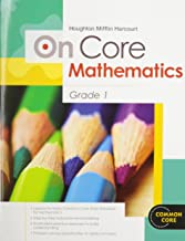 Houghton Mifflin Harcourt On Core Mathematics: Student Workbook Grade 1