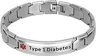 diabetes bracelet for men