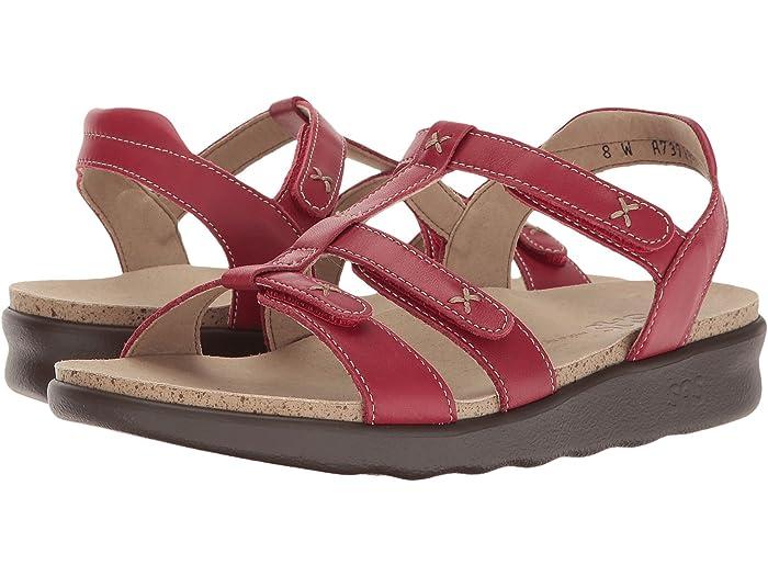 SAS Sorrento (Red) Women's Shoes