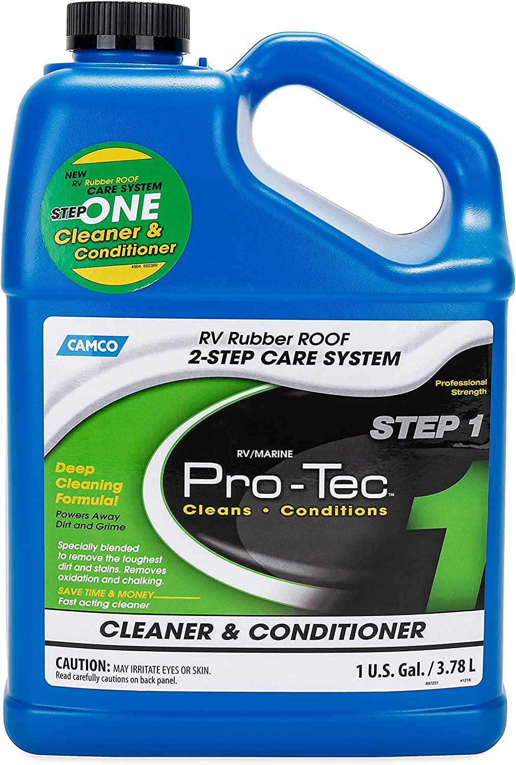 35% OFF Camco Pro-Tec Rubber Roof Cleaner shipfree Cleansing - Rids Formula Deep