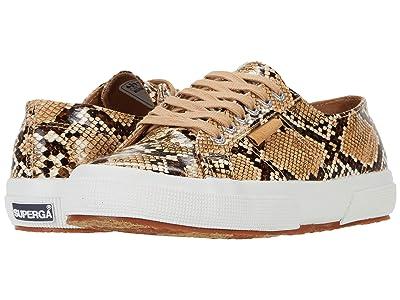 Superga 2750 Snakepufan Sneaker (Brown Snake) Women