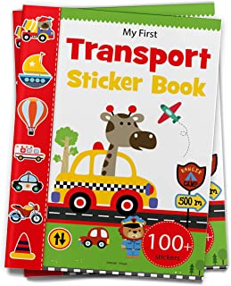 My First Transport Sticker Book : Exciting Sticker Book With 100 Stickers