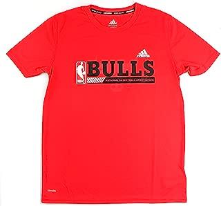 adidas Chicago Bulls NBA Youth Fast Break Climalite T-Shirt Red