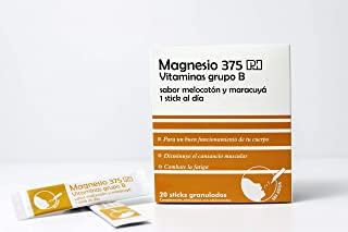 PHARMINICIO - Magnesio 375 PH Vitaminas grupo B. 20 Sticks