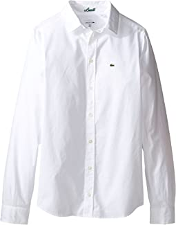 Long Sleeve Classic Oxford Shirt (Little Kids/Big Kids)