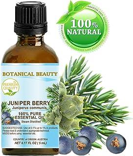Sponsored Ad - JUNIPER BERRY ESSENTIAL OIL 100% Pure Therapeutic Grade, Premium Quality, Undiluted. 0.17 Fl.oz - 5 ml.