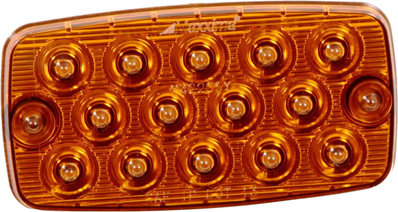 Maxxima M42206 14 LED White Surface Mount Low Profile 0.4 Ultra Thin Backup//Courtesy Light