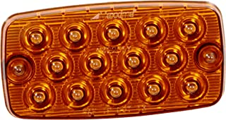 "Maxxima M42206Y 14 LED Amber Ultra Thin 0.4"" Low Profile Park/Rear/Turn Light"