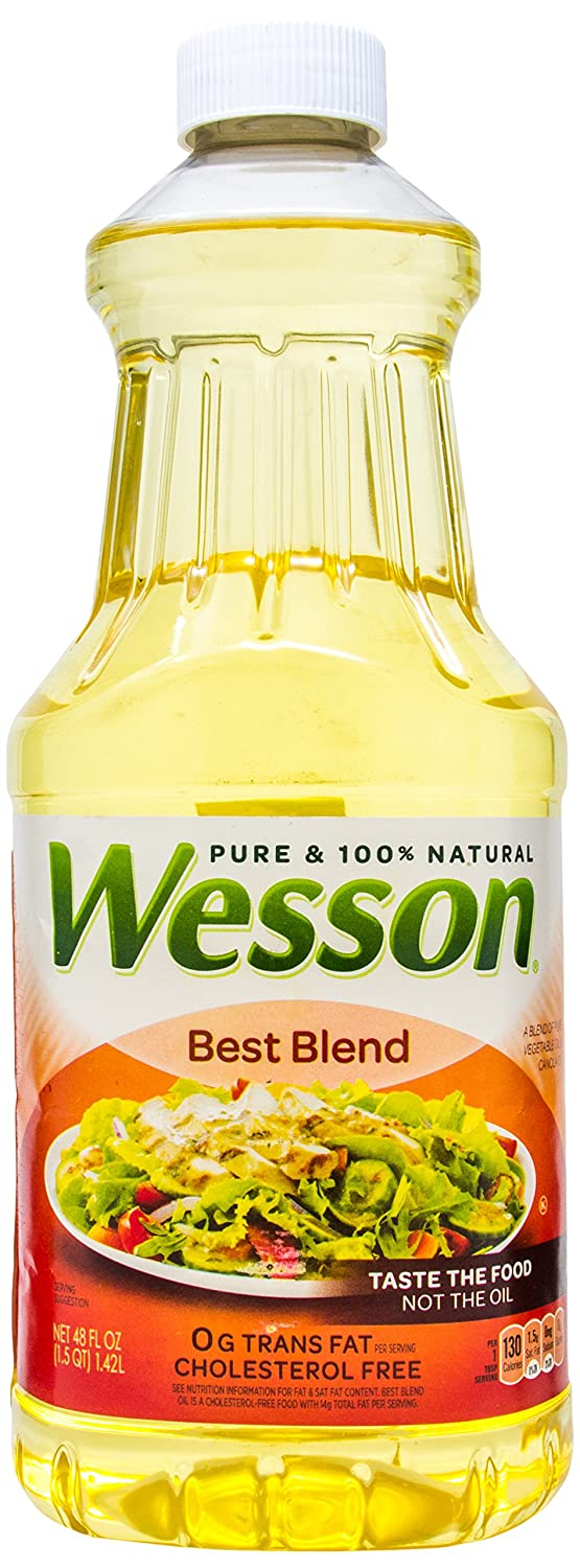 Wesson Best Blend Pure 100% Natural 4 Canola Minneapolis Max 85% OFF Mall And Oils Vegetable