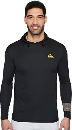 Quiksilver Waterman - Hooked Hoodie Long Sleeve Technical Top