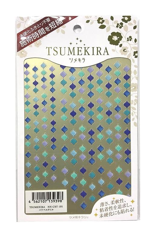 汚い長くする野望ツメキラ(TSUMEKIRA) ネイル用シール コラベルタイル NN-CBT-101