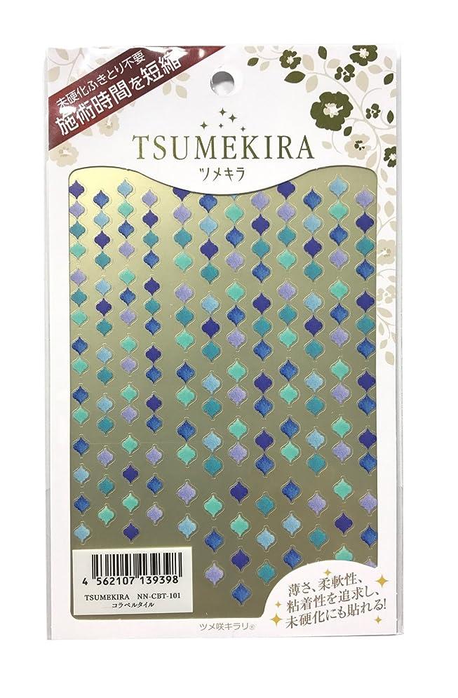 ファシズムソケットセットアップツメキラ(TSUMEKIRA) ネイル用シール コラベルタイル NN-CBT-101